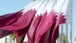 پرچم امیرنشین قطر