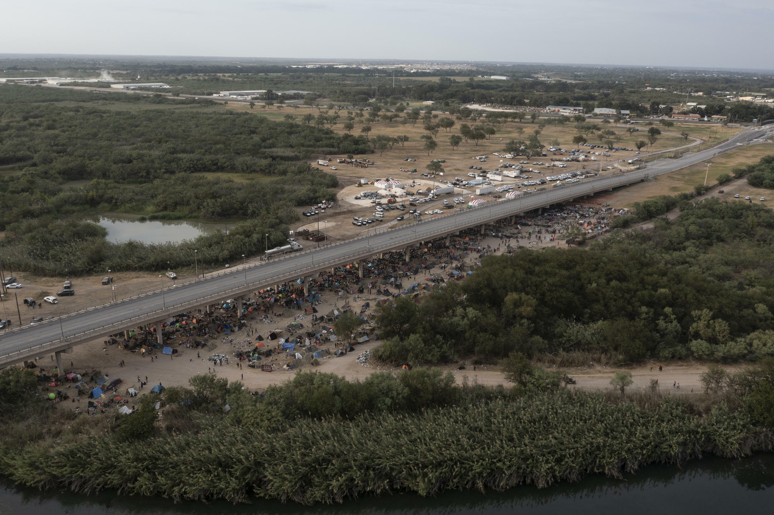 Like thousands of other migrants, Andre ended up camped under the Del Rio bridge in Texas on the US-Mexico border -- and then was deported home to Haiti