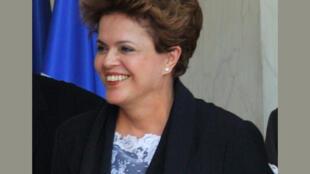 A candidata do PT à presidência Dilma Rousseff.