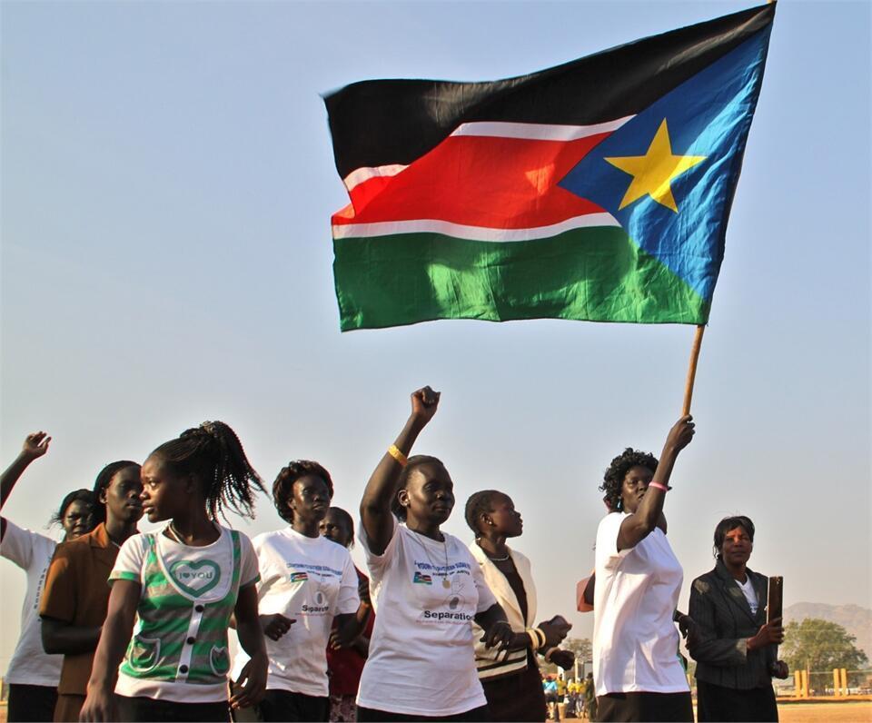 Baadhi ya wananchi wa Sudan Kusini wakiadhimisha siku ya kimataifa ya idadi ya watu duniani