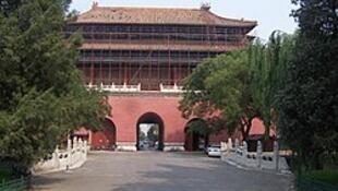 中国北京紫禁城东华门