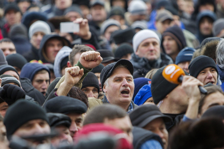 Манифестация в Кишиневе