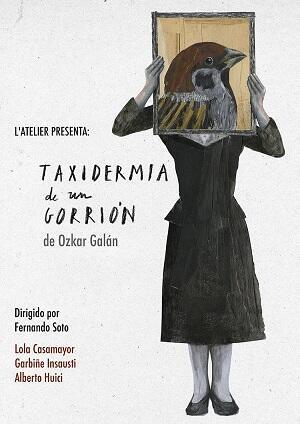 Cartel de la obra representada en Madrid