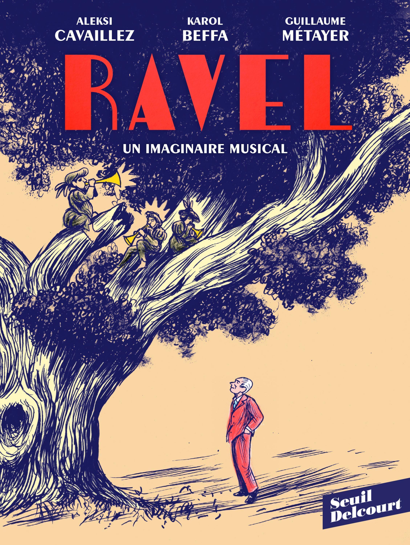 Détail de la couverture de «Ravel, un imaginaire musical», de Karol Beffa et Guillaume Métayer.