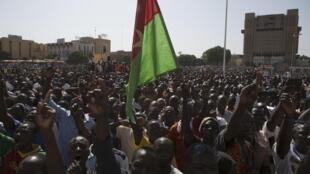 Masu Zanga-zanga a Ouagadougou, Kasar Burkina Faso