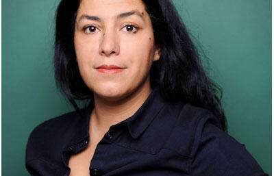 Portrait de Marjane Satrapi.