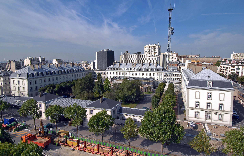 Headquarters fo the DGSE on boulevard Mortier in Paris.