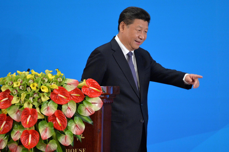 圖為中國國家主席習近平