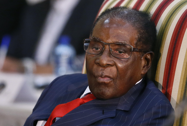 Former President Robert Mugabe of Zimbabwe, October 3rd, 2017