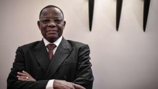 L'opposant camerounais Maurice Kamto, à Paris, le 30 janvier 2020.
