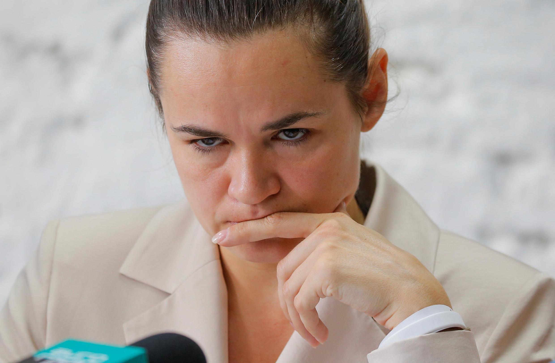 اسوتلانا تیخانوفسکایا، نامزد مخالفان دولت بلاروس در انتخابات اخیر ریاست جمهوری این کشور، به لیتوانی پناهنده شد.
