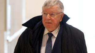 Didier Lombard, ancien PDG de France Télécom, arrive pour son procès pour «harcèlement moral», au palais de justice de Paris, le 6 mai 2019.