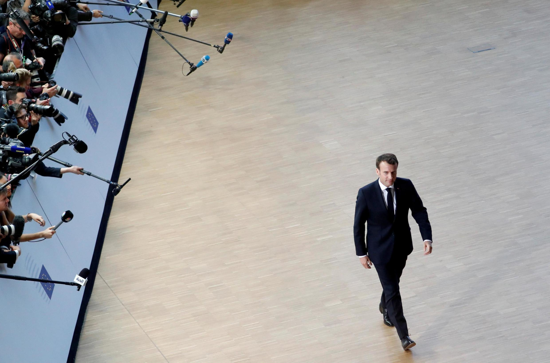 Emmanuel Macron, le 10 avril 2019 (image d'illustration).