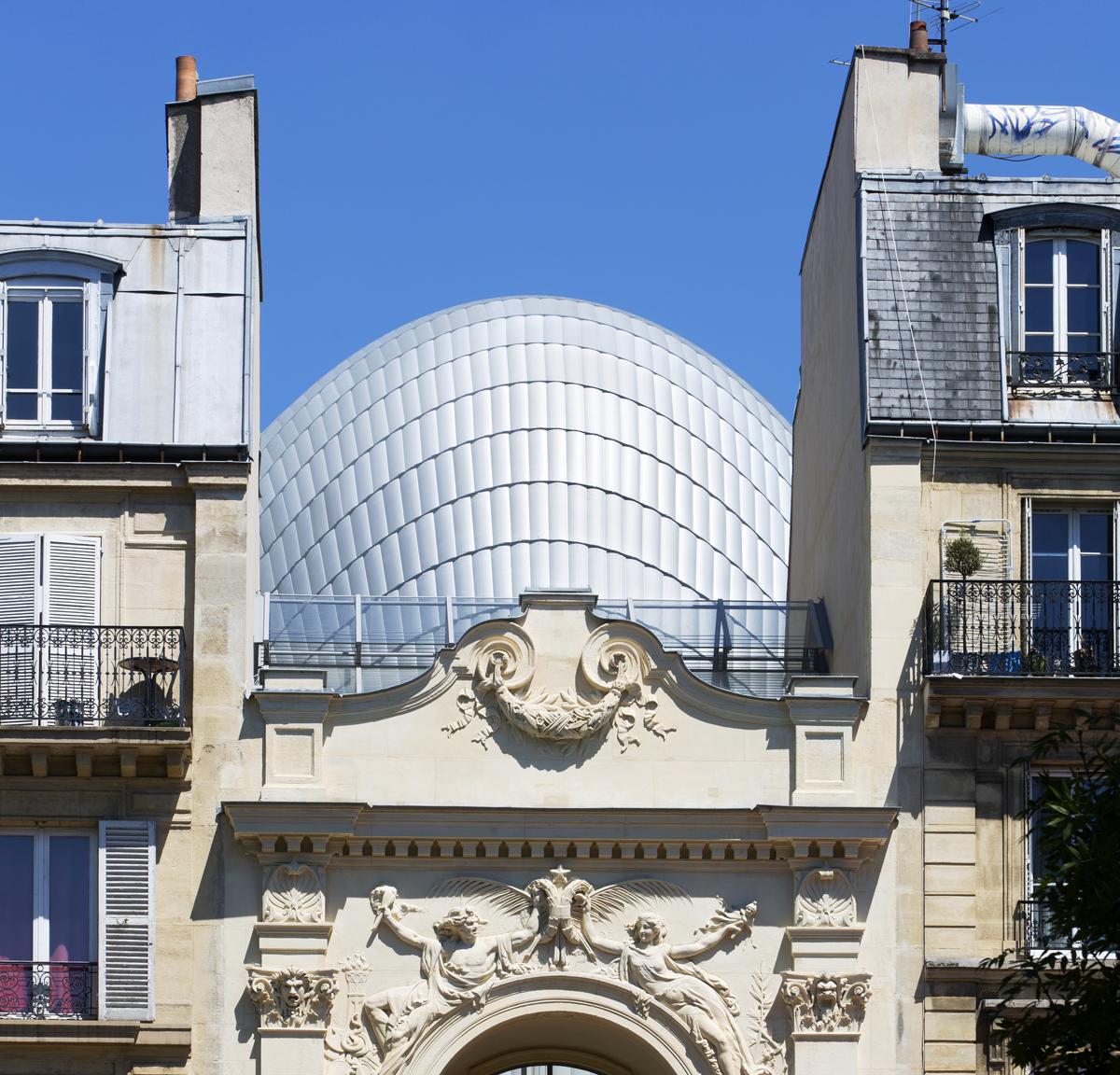 The Fondation Jérôme Seydoux-Pathé in Paris