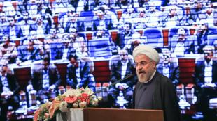 افتتاحیه هفتمین اجلاس مجمع رادیو و تلویزیونهای کشورهای اسلامی با حضور رئیس جمهوری اسلامی ایران