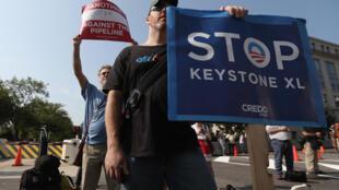 El oleoducto Keystone XL, apoyado por Ottawa pero criticado por ecologistas, fue lanzado en 2008