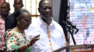 Au terme d'un discours fleuve de près de 2 heures, pour la journée de clôture du congrès, Alassane Ouattara a proposé Henriette Dagri Diabaté à la présidence du RDR, le 10 septembre 2017.