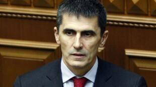 Новый генпрокурор Украины Виталий Ярема в Верховной Раде в Киеве 19/06/2014