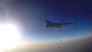 Al despegar desde Irán, los aviones bombarderos rusos recorren 700km, contra 3000km antes, para alcanzar sus blancos en Sirias. (foto de ilustración)