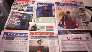Diários franceses 17.11.2014