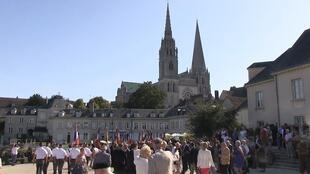 A ceremony to commemorate the 75th anniversary of the liberation of Chartres was held recently.