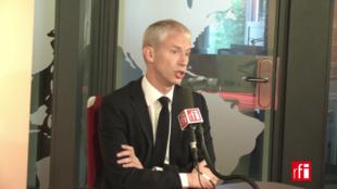 Le ministre de la Culture Franck Riester a annoncé la création de la holding «France Médias» ce mardi 24 septembre 2019.