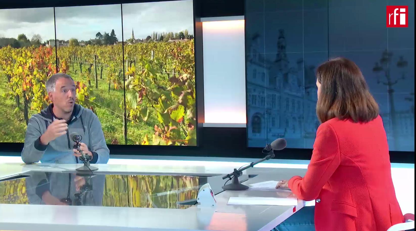 Iñaki García de Cortazar, ingeniero agrónomo investigador en el Instituto Nacional de agricultura, alimentación y medio ambiente de Francia INRAE.