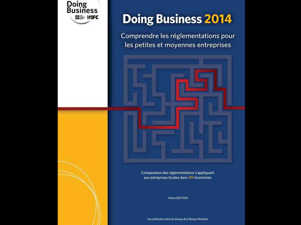 Couverture de «Doing Business 2014».