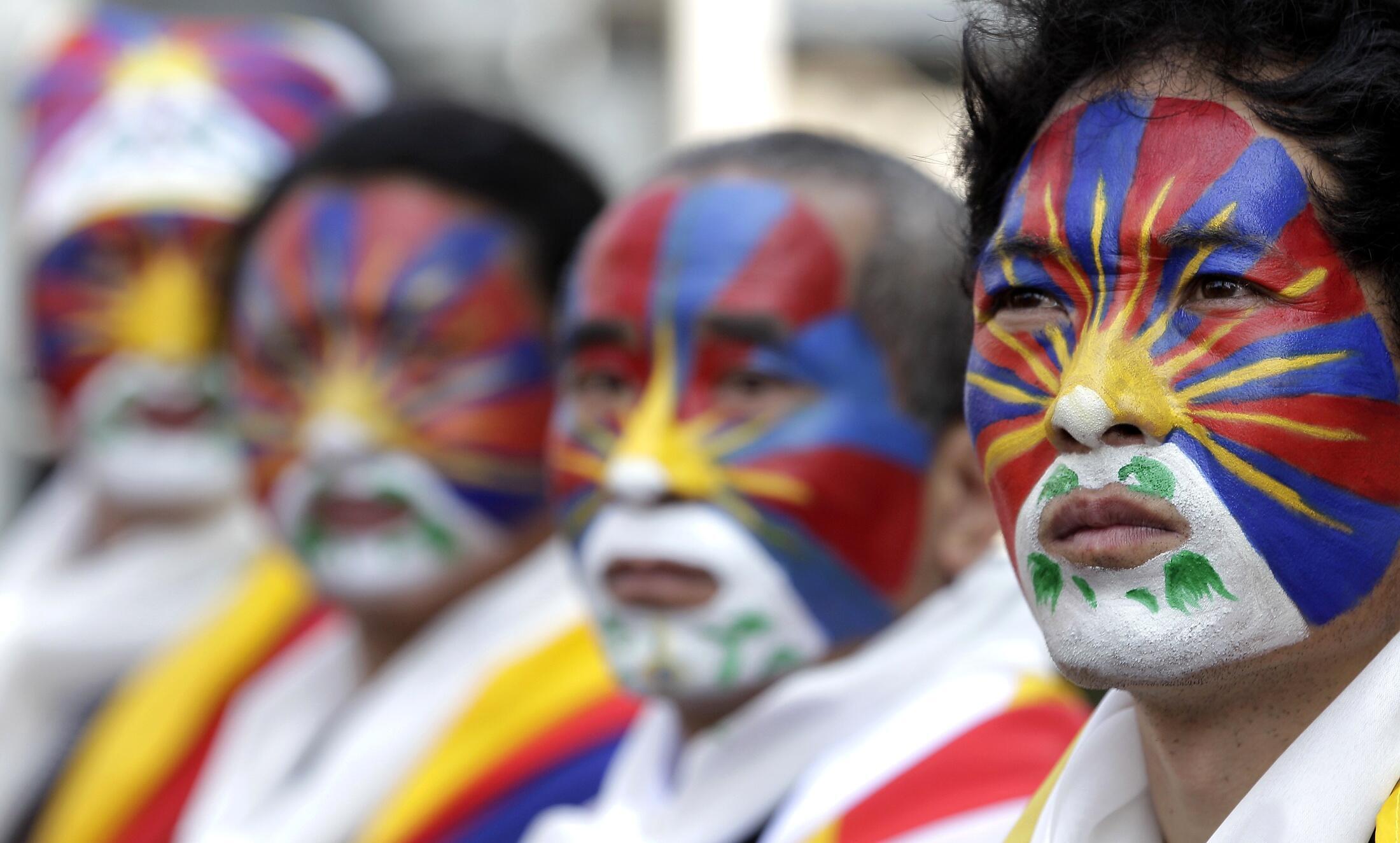 Một cuộc biểu tình của cộng đồng Tây Tạng lưu vong - Reuters