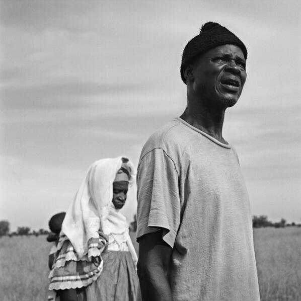 Papa Diop, petit-fils de Abdou Tiam, tirailleur sénégalais fusillé le 18 juin 1940 à Clamecy.