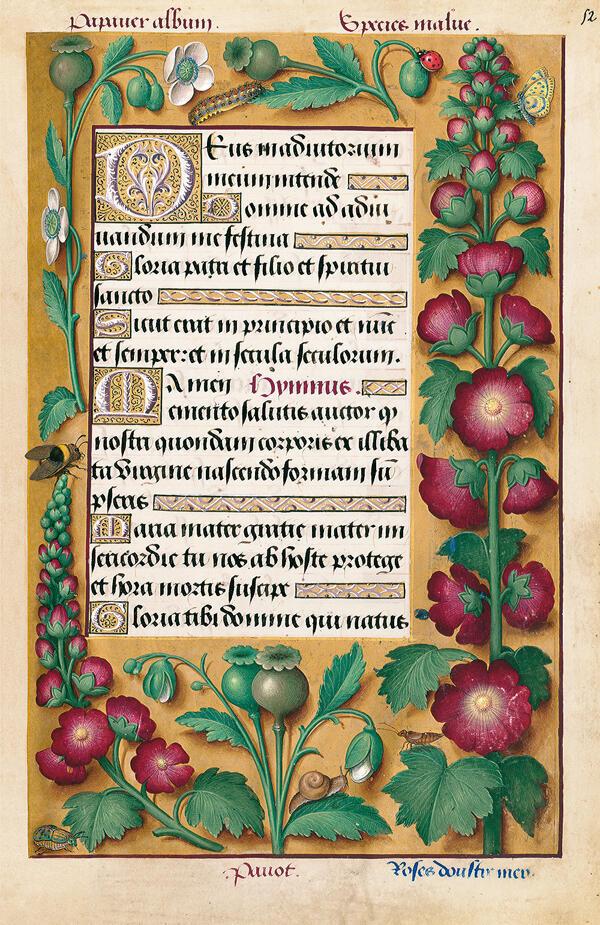«Часослов Анны Бретонской», XVI век.