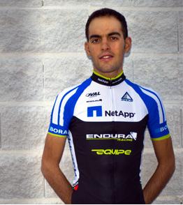 O ciclista português José Mendes, da Team Netapp Endura