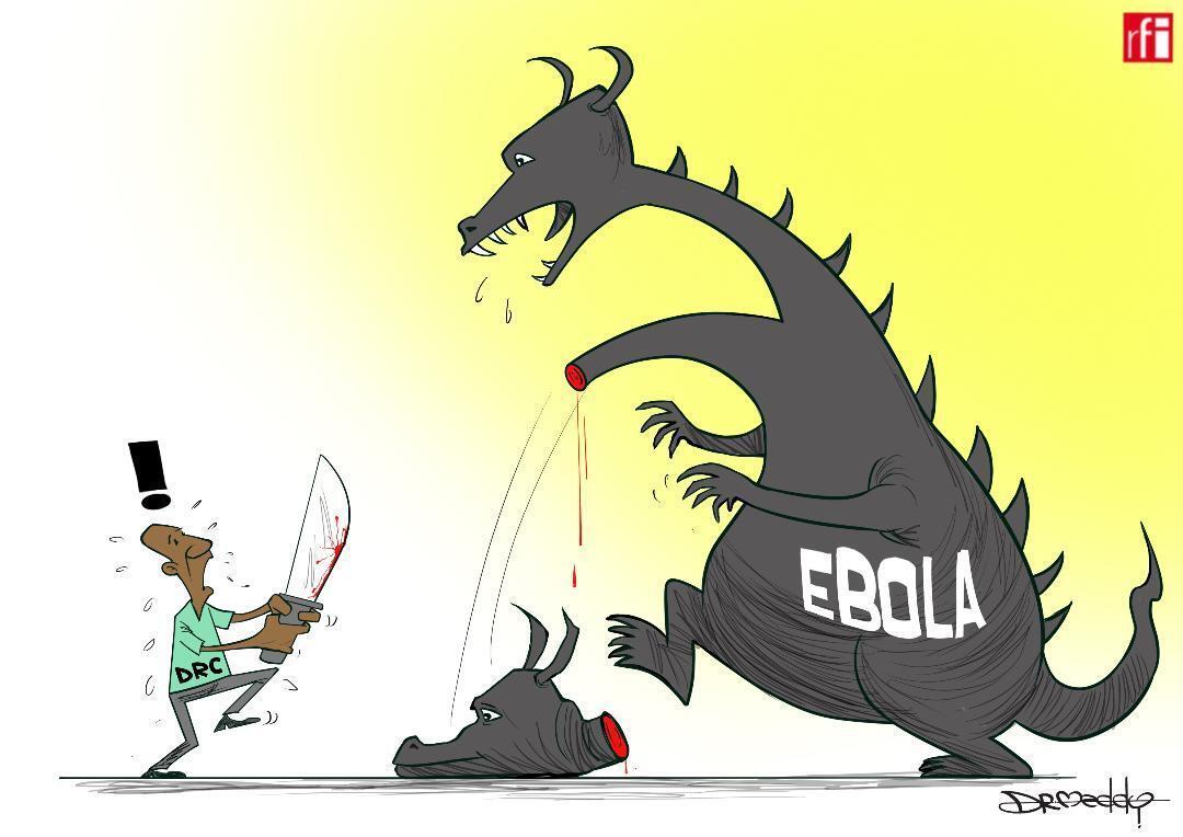 Jamhuriyar Congo: Bayan shekara 1 har yanzu annobar Ebola bata gushe ba har ta isa birnin Goma. (01/08/2019)