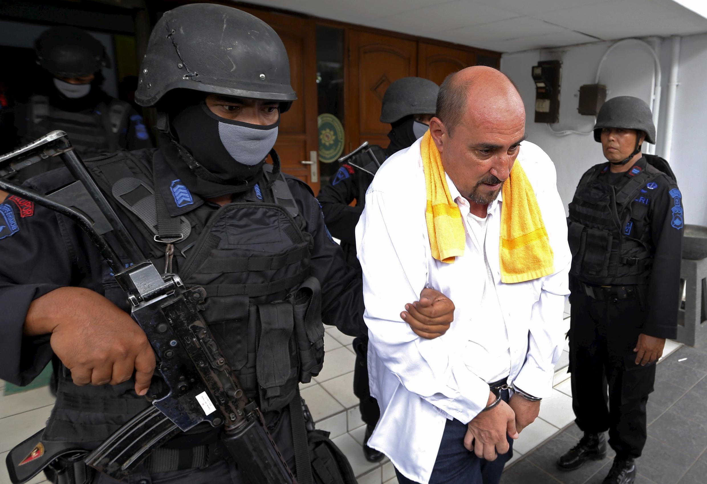O francês Serge Atlaoui recorreu ao Supremo Tribunal indonésio tentando obter um novo julgamento.