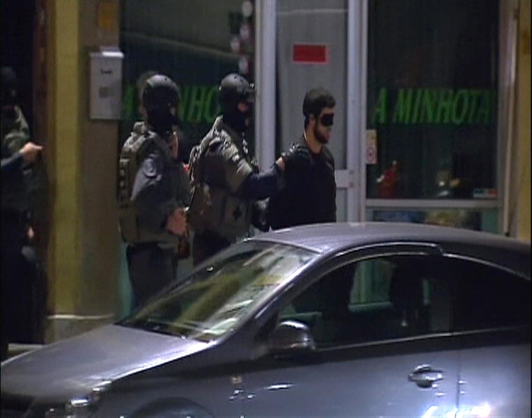 Cảnh sát bắt nghi can tại Antwerp, ngày 23/11/2010