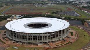 Estádio Mané Garrincha, em Brasília.