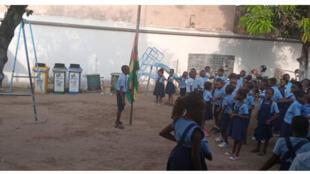 Dans une école de Lomé, au Togo