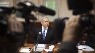 Le Premier ministre Netanyahu, le 10 mars à Jérusalem.