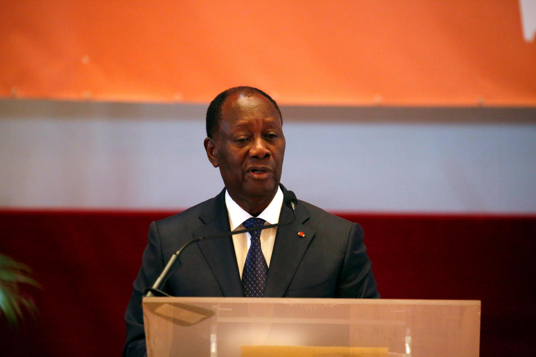 Le président ivoirien Alassane Ouattara continue de laisser planer le doute sur un nouveau mandat pour 2020 (photo d'archives).