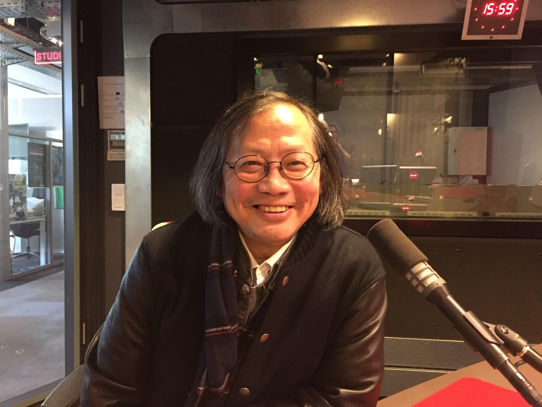 L'écrivain Dai Sijie en studio à RFI (février 2019).