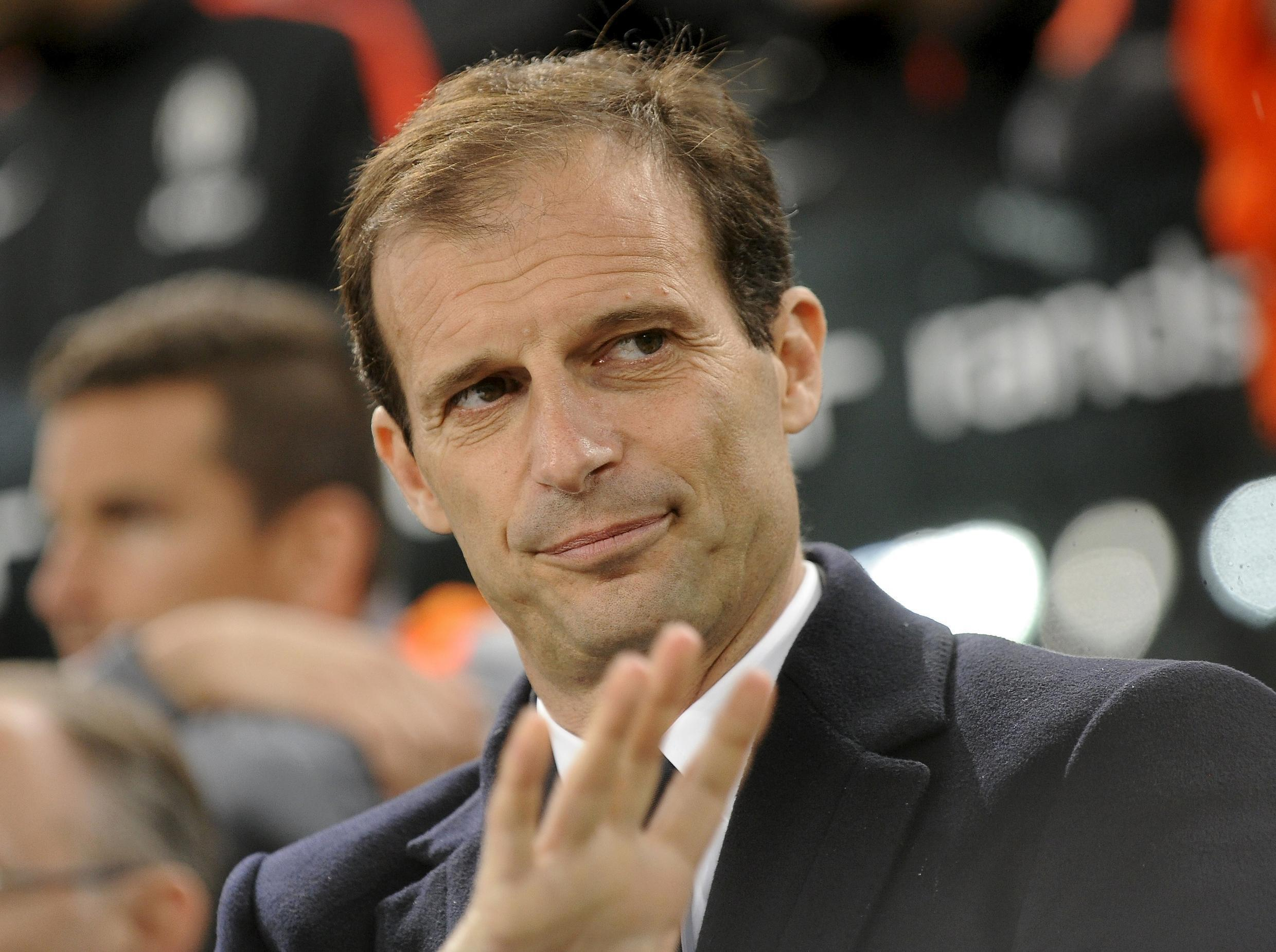 Juventus coach Massimo Allegri has led the side to the cusp of a fourth consecutive Serie A title