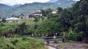 Eneo lililoshambuliwa Kaskazini Magharibi mwa Burundi