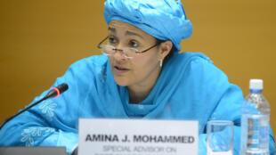 Ministar Muhallin Najeriya Amina Muhammed ta zama mataimakin sakatare janar a MDD