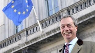Nigel Farage, leader de l'Ukip, le 12 février 2014
