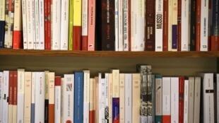 Uma livraria francesa na cidade de Rennes, sudoeste da França.