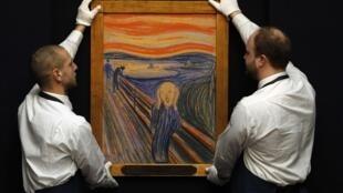 «Le cri» d'Edvard Munch.