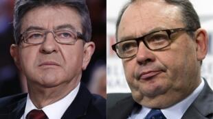 Jean-Luc Mélenchon et Patrick Mennucci sont candidats dans la 4e circonscription de Marseille pour les élections législatives.