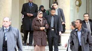 Les familles des deux victimes de Villiers-le-Bel ont été reçues à l'Elysée, le 28 novembre 2009, par Nicolas Sarkozy.