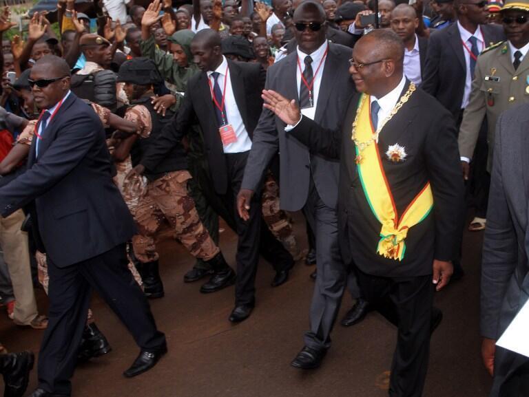 Ibrahim Boubacar Keïta, le 4 septembre à Bamako. Le nouveau président veut rétablir une fraternité entre les Maliens.