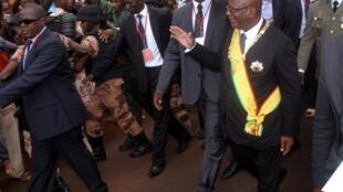 Ibrahim Boubacar Keïta, le 4 septembre 2013 à Bamako.